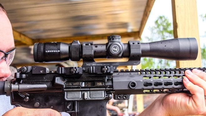 ar 15 scope mounts quick release