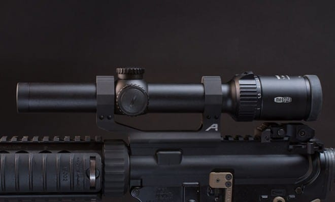 how to mount a scope on a ar15