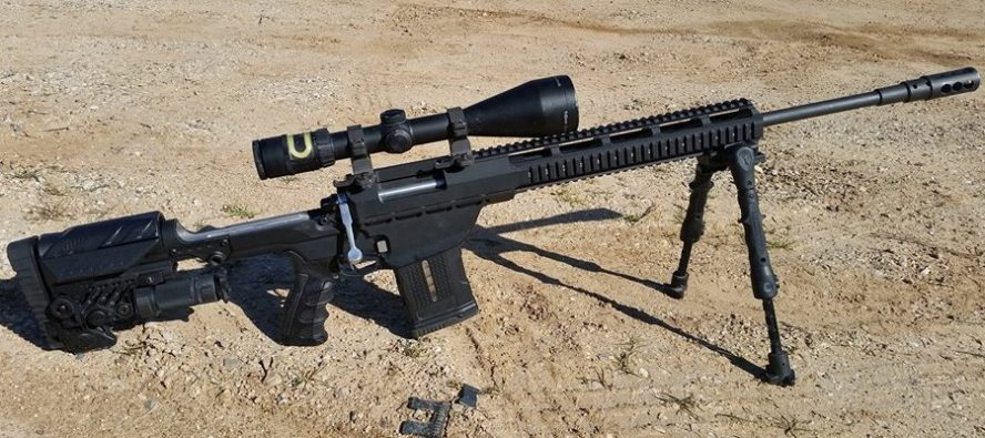 308 bolt action rifle with scope