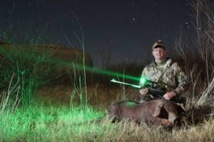 best green light for hunting at night