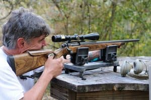 how to zero a rifle scope at 100 yards