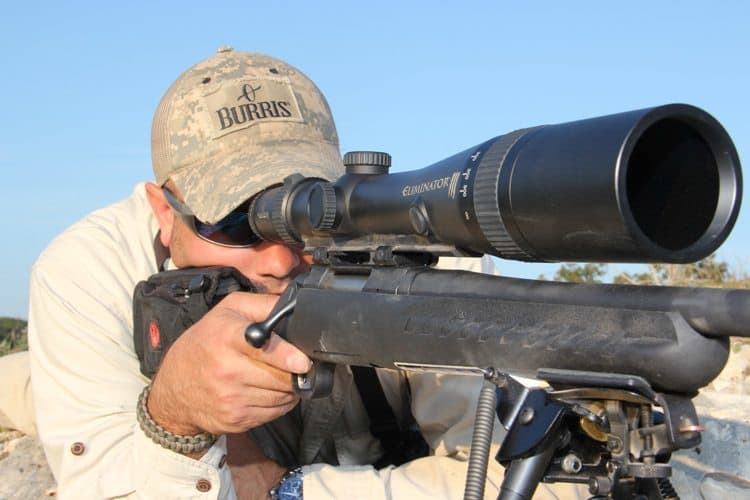 how to use a rangefinder reticle
