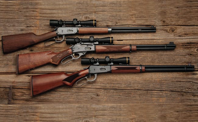 how to mount a scope on a lever action rifle
