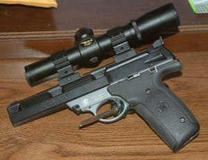 best 22 pistol scope