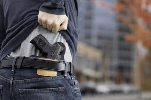 how to conceal carry a full size pistol