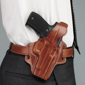 how to soften a leather gun holster