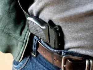 how to conceal a gun without a holster