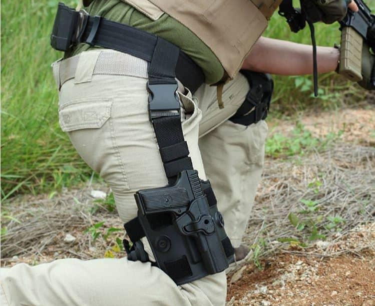 how to make a leg holster